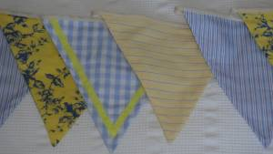 1950s kitchenalia bunting