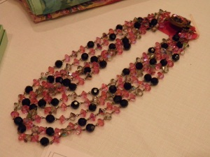 c1950s glass beads