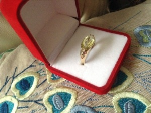Citreen Diamond Ring